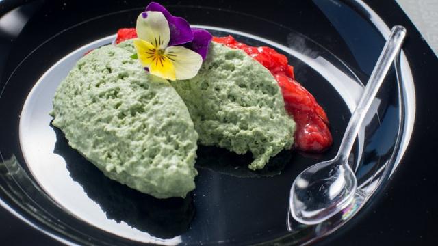 A világhíres dán étterem, a Noma egyik ikonikus fogása volt a sóskamousse