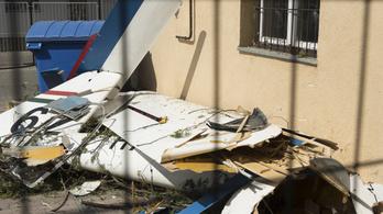 Lezuhant egy vitorlázó repülőgép Nyíregyházán