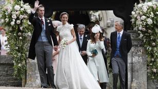 Minden, amit Pippa Middleton esküvői ruhájáól tudni érdemes