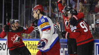 Kanada 0-2-ről fordított, megint vb-döntős