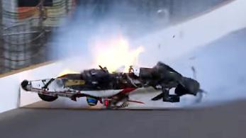 Bourdais volt a leggyorsabb, de csúnyán becsapódott