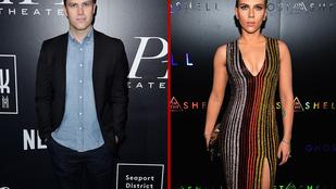 Végre Scarlett Johansson állítólagos pasija is beszélt a kapcsolatukról