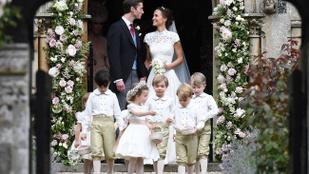 Pippa Middleton rongyrázó esküvőjének legjobb pillanatai