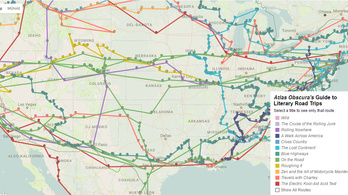 Kövesse Kerouac és a többi amerikai utazó útját!