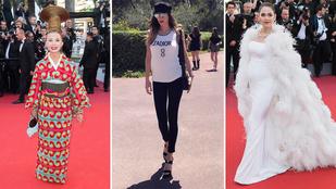 10 szokatlan szett a Cannes-i filmfesztiválról