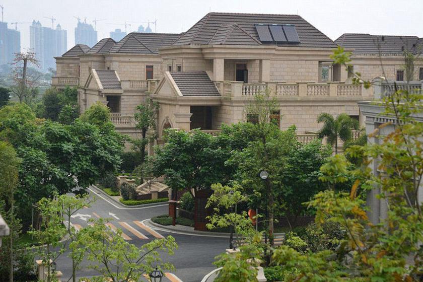 Egy teljes városrészt hoztak létre a dúsgazdag kínaiak számára.