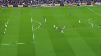 Messi, ahogy eljutott a kezdőkörből a tizenegyespontig
