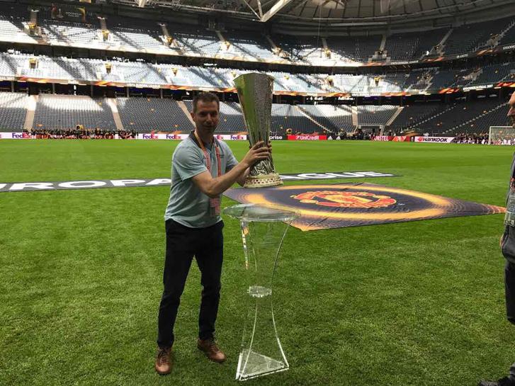 Marosi Balázs önkéntesként dolgozik az EL-döntőn