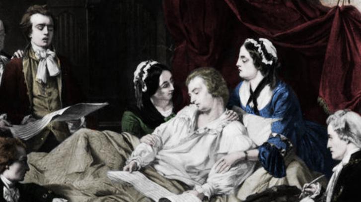 Mozart a halálos ágyán