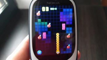 Félre a kamu nosztalgiával, az új Nokia 3310 szar mobil