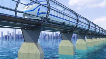 A norvégok 2037-re vákuumvonattal közlekednének