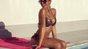 Modellként teljesedne ki Ronaldo szexi barátnője. Ön szerint menni fog?