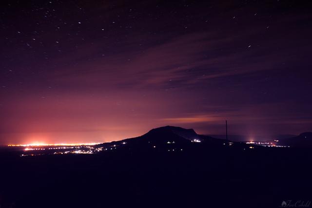A szigligeti várrom éjjel – Kölcsey Huszt című verse erről a képről jutott eszünkbe