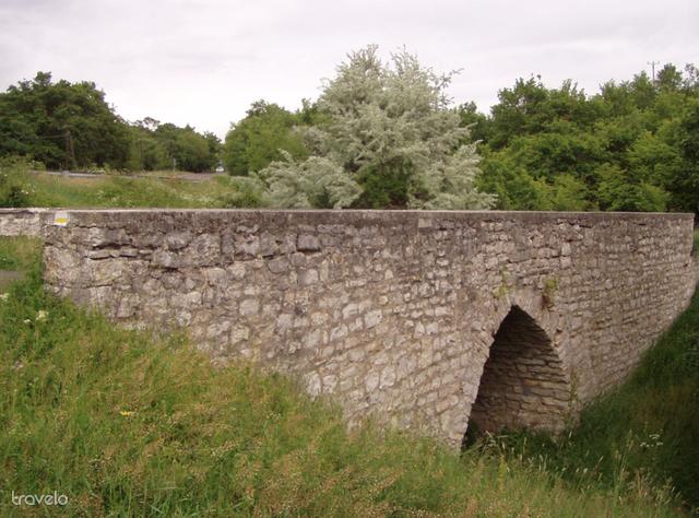 A kisdörgicsei híd Vászoly felé