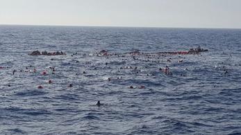 Újabb menekülteket szállító hajó süllyedt el, 31 halott