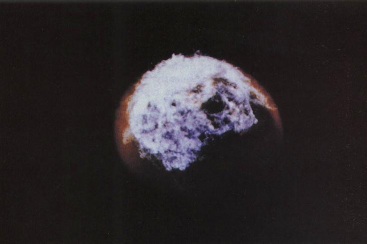 Bluegill Triple Prime, 1962. október 26. 48 km magasban felrobbantott 410 kilotonnás töltet (Dominic I – Operation Fishbowl, Johnston atoll, Csendes-ócean).