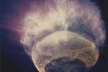 Orange, 1958. augusztus 12. A 3,8 megatonnás töltetet 43 kilométeres magasságban robbantották föl. (Hardtack I, Johnston atoll, Csendes-ócean.)