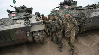 Már nem fél megizmosodni a német hadsereg
