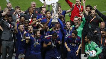 Minimálfutballal, moslék EL-döntőn lett BL-induló a ManUnited