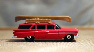 Batár méretű station wagon miniatűr kiadásban