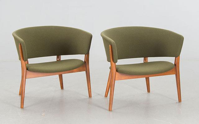 Ez az Erik Wörtz által tervezett zöld szék az aukciók legnépszerűbb darabja, 1500 fontot, kb.534 ezer forintot is megadnak érte a gyűjtők.