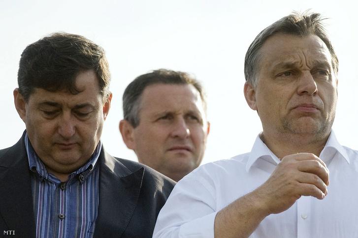 Mészáros Lőrinc, Orbán Viktor