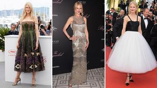 Nehéz túlöltözni Nicole Kidmant Cannes-ban
