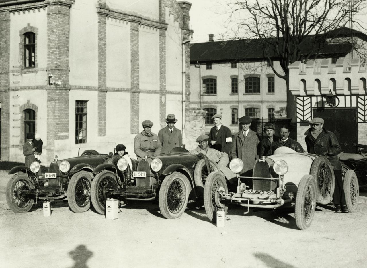 1928 Zsolt utca 9., Bugatti vezérképviselet Fotó: Zsótér László FORTEPAN