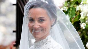 """Ez volt Pippa Middleton esküvőjén a """"valami régi"""""""