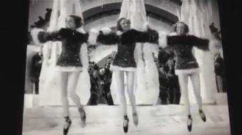 Elképesztő trend a múlt századból: sztepptánc spicc-cipőben!