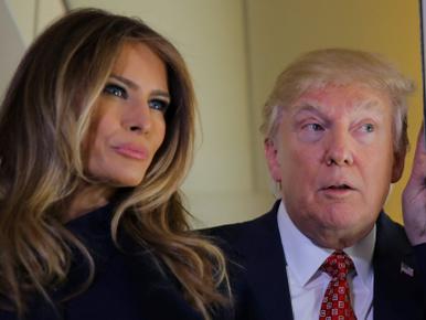 Kezdenek eldurvulni a dolgok Melania és Donald Trump házasságában