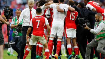 Az Arsenal legyőzte a Chelsea-t az FA-kupa döntőjében