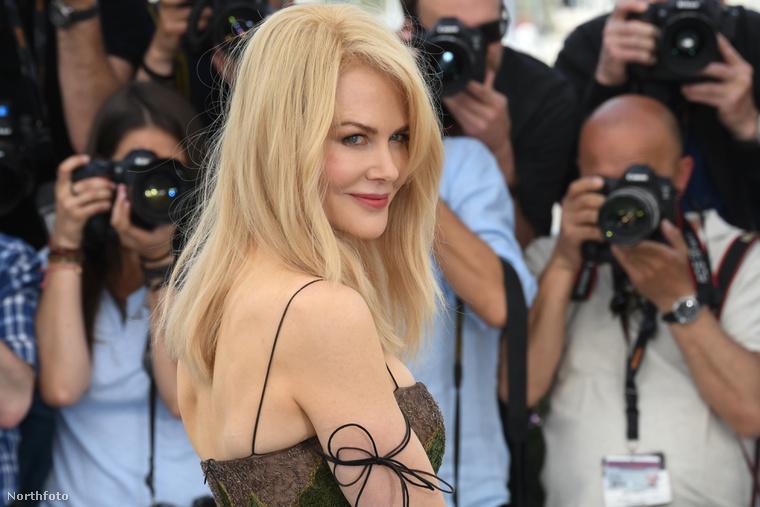 Nicole Kidman az Egy szent szarvas meggyilkolása bemutatóján.