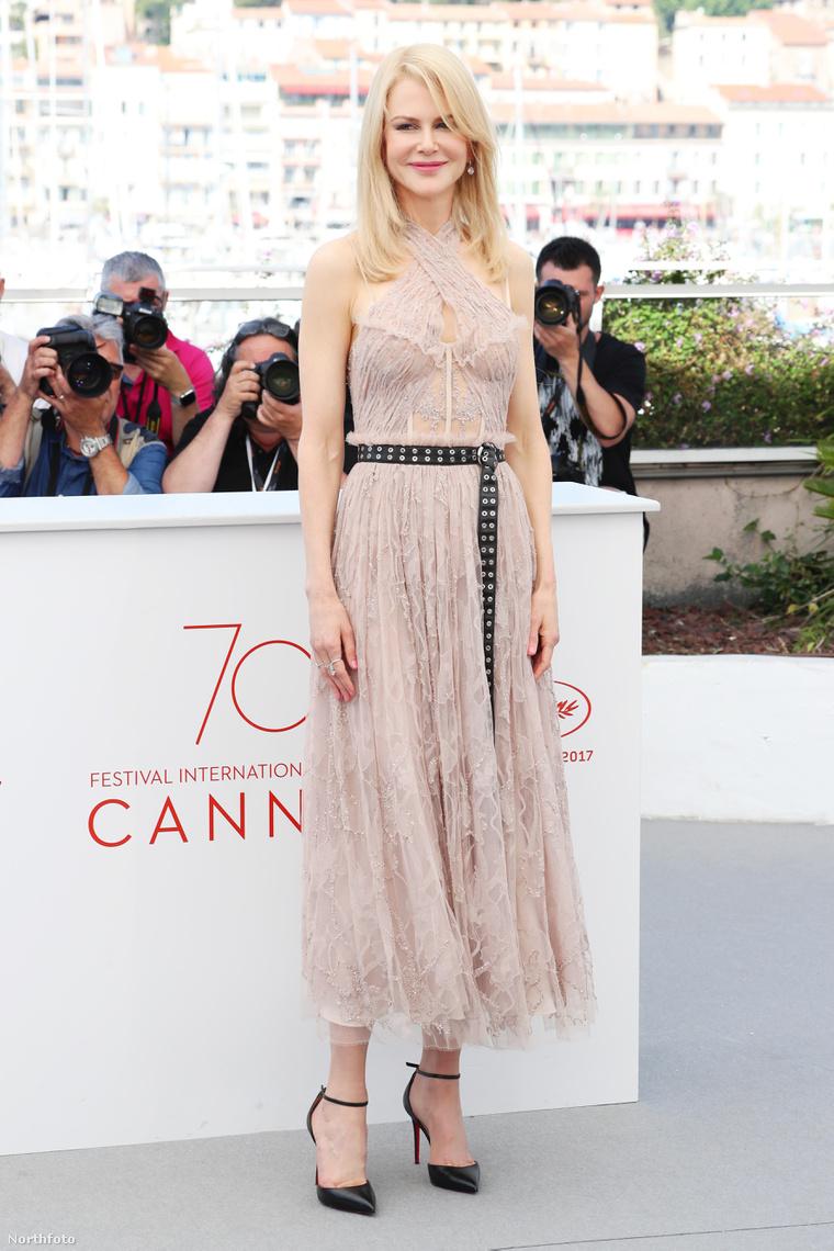 Nicole Kidman a Csábítás című film photocallján.