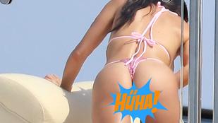 Kourtney Kardashian feneke indokolatlanul több figyelmet kap az arcánál