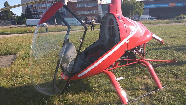 Visszazuhant egy felszálló helikopter Budaörsön