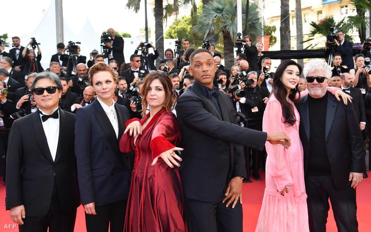 A 2017-es cannes-i filmfesztivál zsűrijéből Park Chan-wook, Maren Ade, Agnes Jaoui, Will Smith, Fan Bingbing, és Pedro Almodóvar.