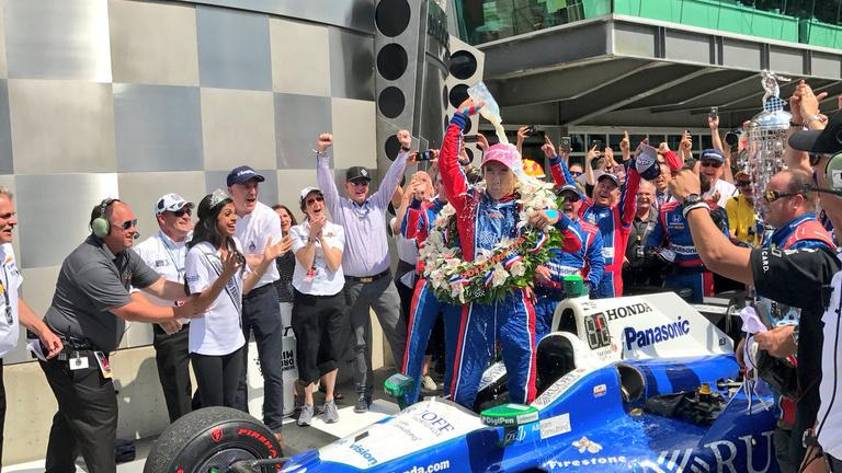 F1-es nyerte az Indy 500a-t, de nem Alonso