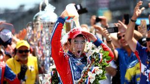 Újabb alonsós Honda-dráma, japán volt F1-es nyerte az Indy-t