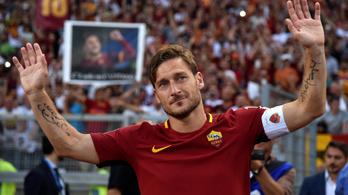 Tottit 80 ezren siratták, 90. perces győzelemmel búcsúzott a Romától