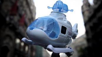 A Rogánt helikoptereztető cég a felesége kezébe került