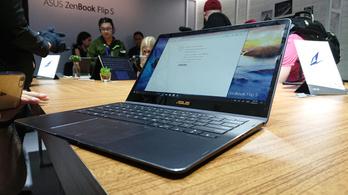 Hatalmas erő és vékony test az új laptoptrend