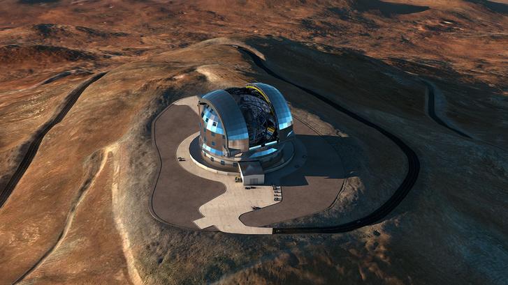 A teleszkóp látványterve