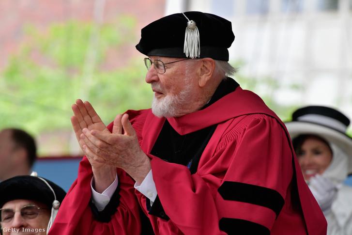 John Williams a Harvard University doktorrá avató ceremóniáján