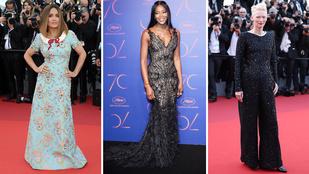 20 estélyiruha, amit szerettünk a Cannes-i filmfesztiválról