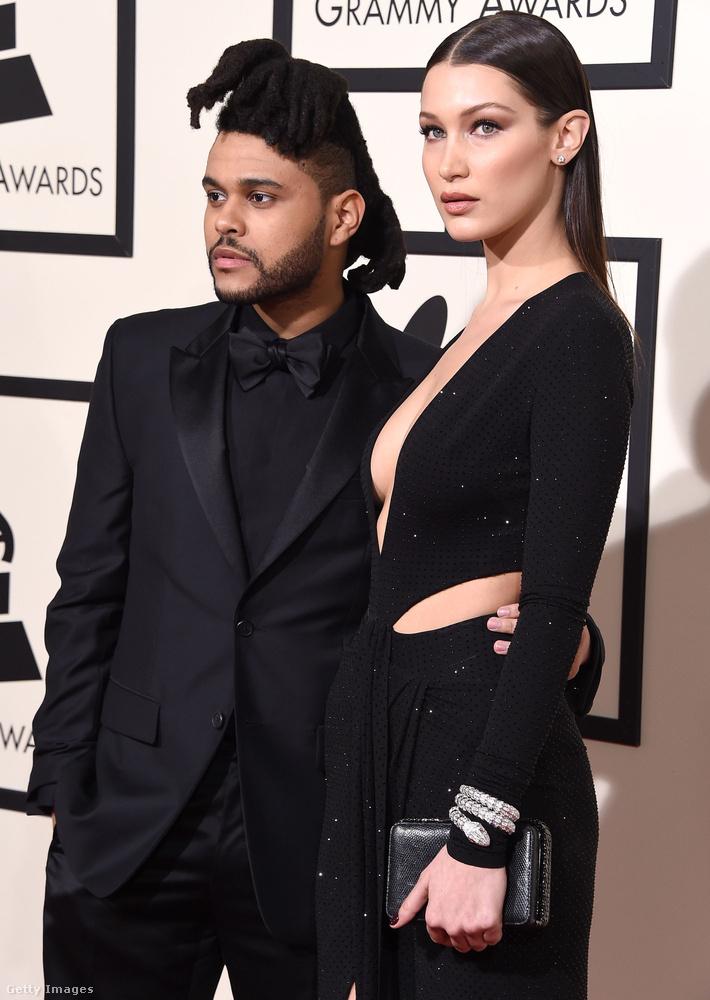 Aztán 2015-ben a The Weeknd nevű énekessel jöttek össze