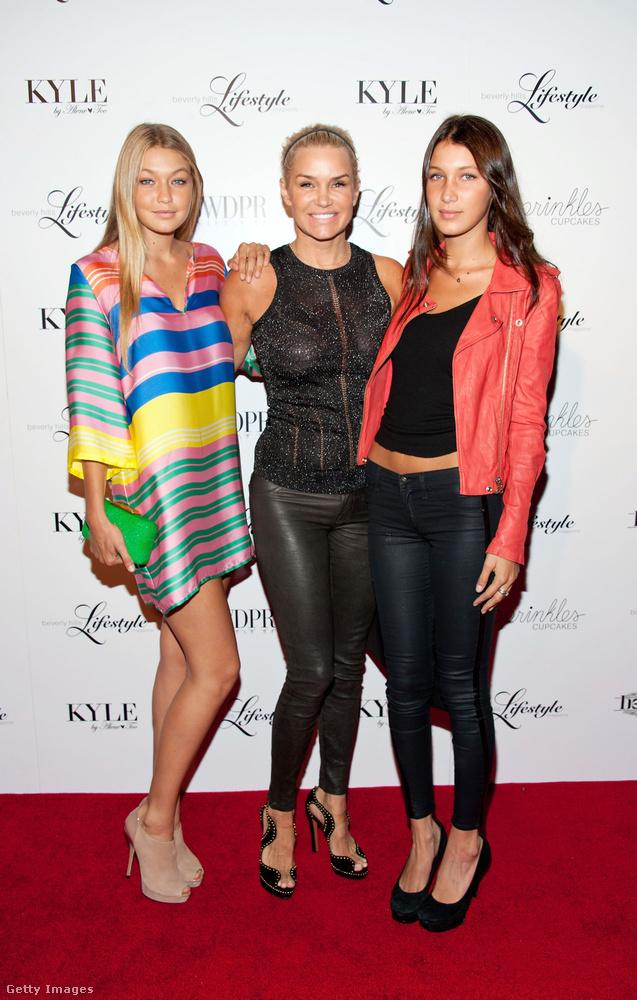 A modell életében viszonylag korán eljött a profi karrier időszaka: Isabella Hadid már 16 éves kora óta aktív a divatszakmában.