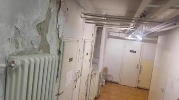 Penészes, rohadó épületben végzik a tüdőszűrést Csepelen