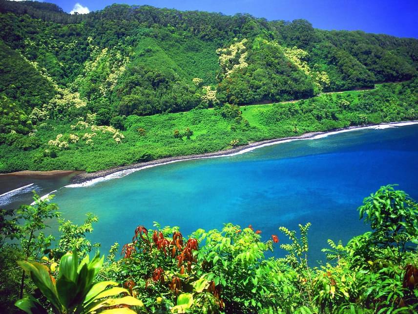 Maui varázslatos szigete a természet szerelmeseinek paradicsoma.