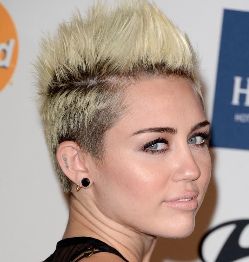 Az énekesnő még 2013-ban viselte hasonlóan a frizuráját, amely a védjegyévé vált, így ha valaki ilyesmi hajat vágat, rögtön mindenki párhuzamot von Miley-val.